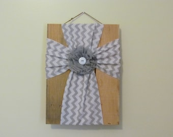 Chevron Pallet Cross