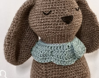 The Rolling Dog with Collar Crochet Pattern