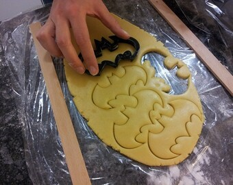 Batman Cookie Cutter 3D printed