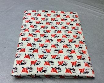 Vintage Cotton Fabric - 1 Yard