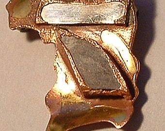 Statement Brooch, Statement Pin, Statement Jewelry, Brooch, Pin, Abstract, Organic