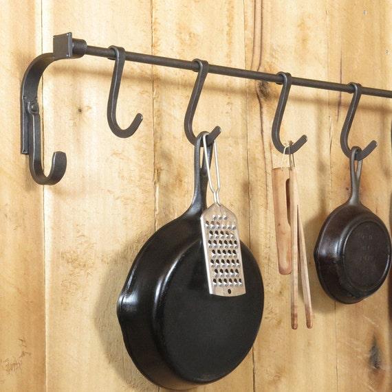 Kitchen Pot Rack Craftsman Style Kitchen Organization