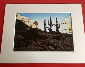 """Stones - Carvoeiro, Portugal - A4 Digital Photograph Prints mounted to 12 x 16"""""""