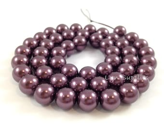 5810 BURGUNDY 6mm Swarovski Crystal Pearls 50pcs or 100pcs