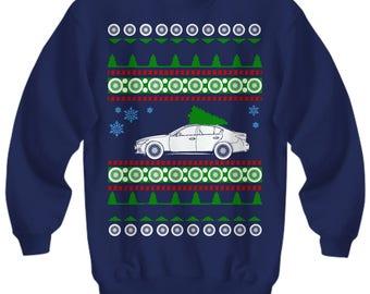 Infiniti Q50 Ugly  christmas present sweater jdm enthusiast nissan sedan fast car luxury