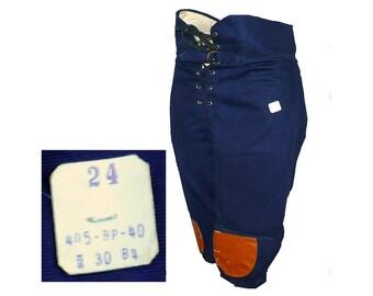 Football Hero - Vintage 1950's Padded Football Uniform Knickers Pants, Sportswear