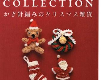 CROCHET Christmas Items - Japanese Craft Book