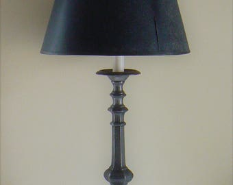 Vintage Gothic Style Table Lamp, Three Footed Lamp, Tall Table Lamp,