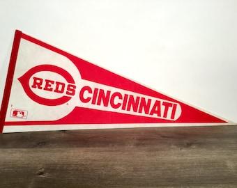 Large Cincinnati Reds Pennant - 1990s