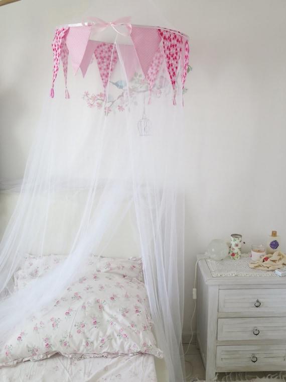 Bett Baldachin, Prinzessin Baldachin, Baby Baldachin, Kinderbett Baldachin,  Mädchen Baldachin, Romantisches Schlafzimmer Dekor, Prinzessin Bett