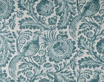 Two 26 x 26 Designer Decorative Pillow Euro Covers - Flint Bird -  Blue