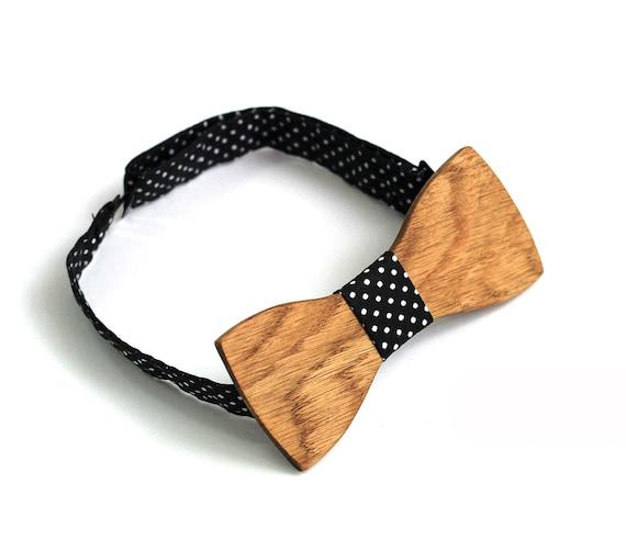 herren krawatte sohn geschenk f r ihn holz fliege f r m nner. Black Bedroom Furniture Sets. Home Design Ideas