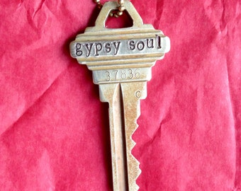 Gypsy Soul Key Necklace