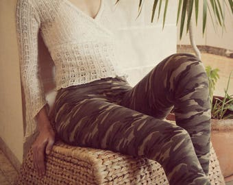 Army Print Tights, Cotton Tights, Womens Jeggings, Leggings Pattern, Womens Leggings, Printed Leggings, Leggings Yoga, Jeggings
