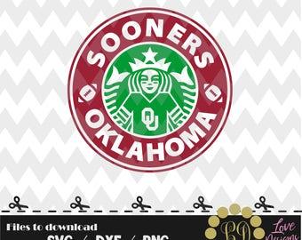 Sooners Oklahoma Coffee svg,png,dxf,shirt,jersey,football,college,university,decal,proud mom,disney,starbucks,ncaa,design,2018,custom