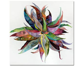 Galaxy Succulent Plant Print, Multiple Sizes, Fine Art