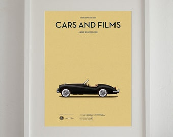 Cruel Intentions car poster, art print A3 Cars And Films, home decor prints, illustration print