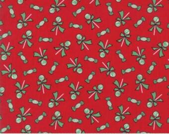 Moda Sugar Plum Christmas Candy Red by Bunny Hill Designs