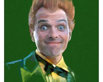 Drop Dead Fred A3 Poster