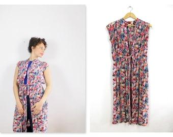 Jeff Banks Vintage Floral Long Dress/ top