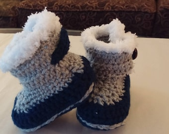 Fuzzy Boots, Baby boots, Baby boy boots