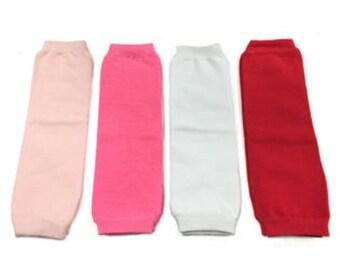 Solid Leg Warmers, for Babies Toddlers Girls Newborns, Cotton Leggings, plain leg warmer