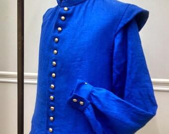 CUSTOM Linen Fencing SET (Sleeveless Doublet & Shirt)