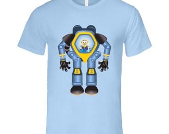 Robo Dad T Shirt