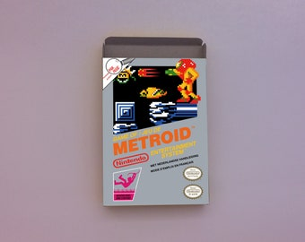 Metroid box only for NES
