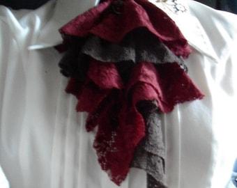 Brown crop / red pendant