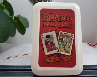 Vintage playing cards, Beano play cards, Beano, Game cards, 54 playing cards, Old play cards, 1970 toys