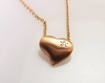 Rose Gold Heart .