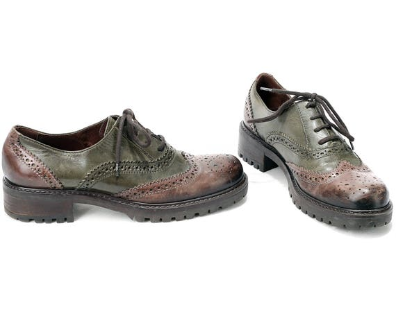 Perforated Oxfords-4 UK / 37 EU / 6 US dNSJWc5bn
