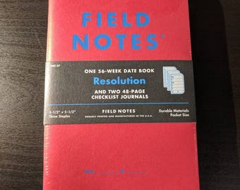 Field Notes Resolution Set