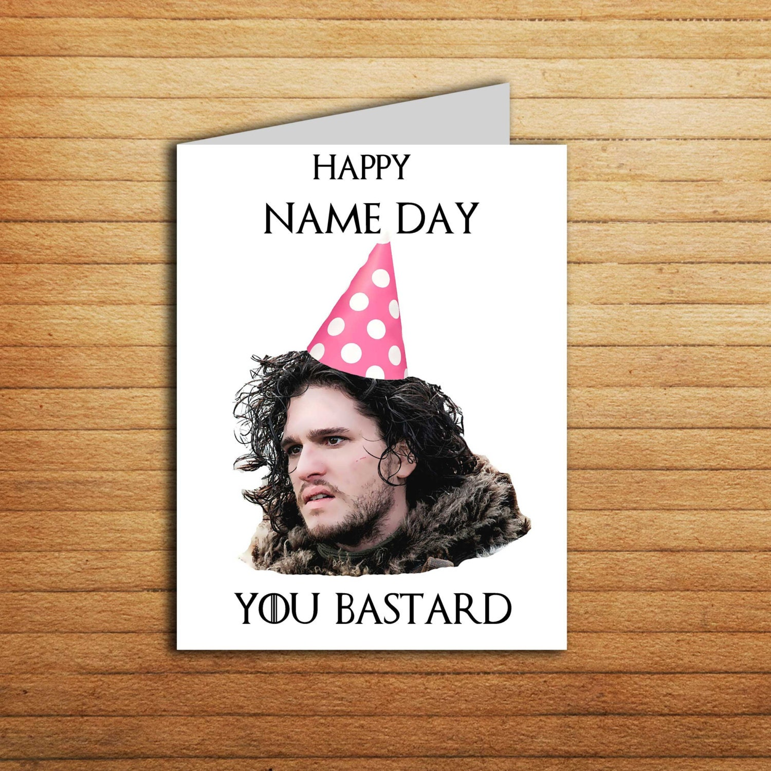 Game of Thrones card Game of Thrones Birthday card Printable