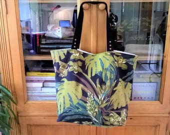Tote bag Tote bag printed jungle gift mother