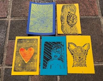 Cartes postales (Pack de 5)