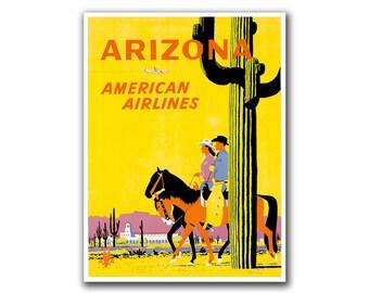 Arizona Travel Poster Home Decor Wall Art Print (H84)