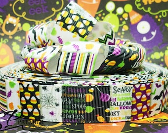 "1"" Halloween Grosgrain Ribbon"