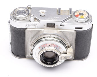 Wirgin Edixa II-L 35mm Rangefinder Camera with Westanar 45mm f/2.8 Lens c.1957