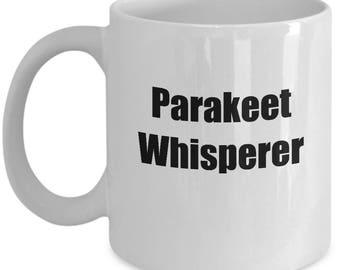 Parakeet Whisperer Mug