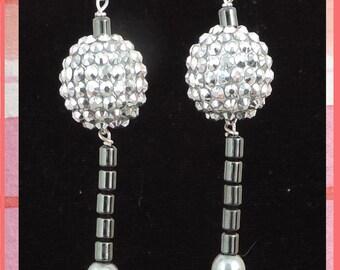 Sputnik Disco Party Earrings