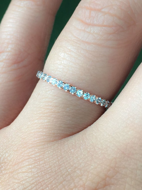 ring bands eternity aquamarine harriet band kelsall rings