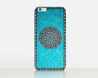 Exotic Tiles Phone Case For- iPhone 8, 8 Plus, X, iPhone 7 Plus, 7, SE, 5, 6S Plus, 6S, 6 Plus, Samsung S8, S8 Plus, S7, S7 Edge