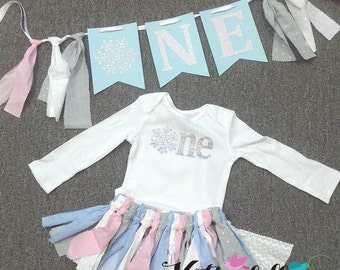 Winter ONEderland First Birthday Outfit Onederful One is fun