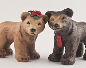 Bear Wedding Cake Topper - Custom Accessories