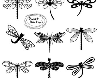 Dragonfly Clipart,Dragonflies Clipart,Dragon Fly Clip Art,Dragonfly Silhouettes, Dragonfly Clipart, ClipArt Dragonfly, Digital Dragonfly0872