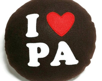 Mega Felt Whoopie Pie Pillow!! Pa Dutch, I heart Pa, Pennsylvania