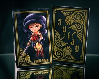 Sugar + Spice Trading Card: Wonder Woman