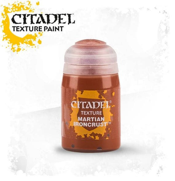 Citadel Texture collection acrylic paint for polymer clay, miniature. and steampunk designed specifically for creating unique effects